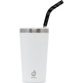 MIZU 16 Enduro LE Tumbler with Spearmint Straw enduro white